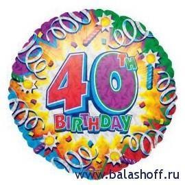 40th  - Мой день рождения - 40 лет и подведение итогов!