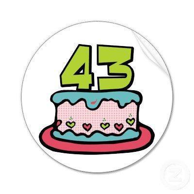 43 - День рождения - будем взрослеть и становиться серьезными?