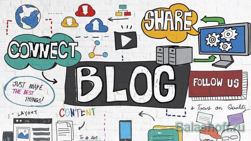 Типы статей на блоге